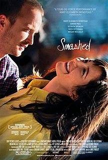 <i>Smashed</i> (film) 2012 film by James Ponsoldt
