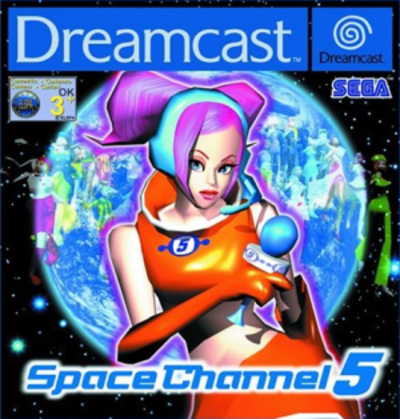 Picture of a game: Space Channel 5