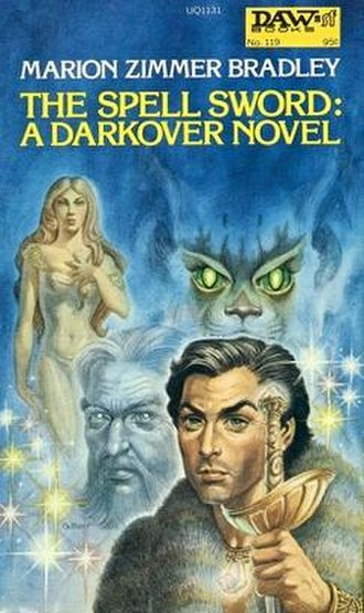 The Spell Sword - Cover of the first edition