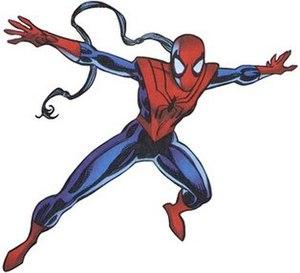 Spider-Woman (Mattie Franklin) - Mattie's first Spider-Woman costume