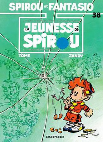 Le Petit Spirou - The Spirou et Fantasio album La jeunesse de Spirou from 1987 became the launching pad for the spin-off series Le Petit Spirou.