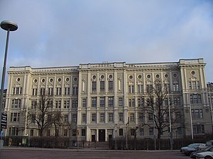 Helsinki Metropolia University of Applied Sciences - The main building in Bulevardi 31.