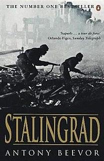 <i>Stalingrad</i> (book) book by Antony Beevor