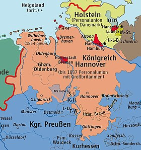 Map Of Zollverein Germany.Steuerverein Wikipedia
