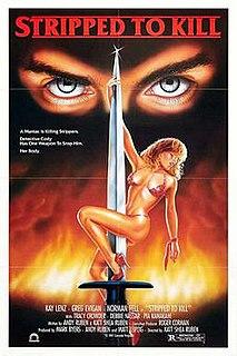 <i>Stripped to Kill</i> 1987 American film directed by Katt Shea