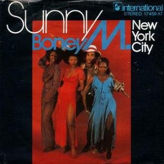 Sunny (Bobby Hebb song) - Image: Sunny boney m single