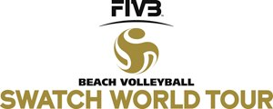 FIVB Beach Volleyball World Tour - Image: Swatch FIVB Beach Volleyball World Tour logo