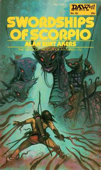 Swordships of Scorpio - Cover of first edition