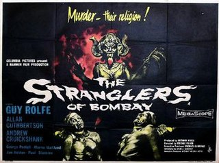 <i>The Stranglers of Bombay</i> 1959 film by Terence Fisher