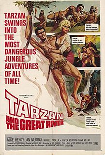 <i>Tarzan and the Great River</i> 1967 film by Robert Day