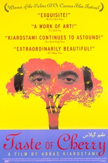 <i>Taste of Cherry</i> 1997 Iranian film directed by Abbas Kiarostami