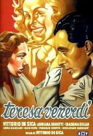 Teresa Venerdì - Film poster
