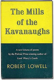 <i>The Mills of The Kavanaughs</i> book by Robert Lowell