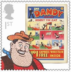 The Dandy - Dandy stamp issued by Royal Mail