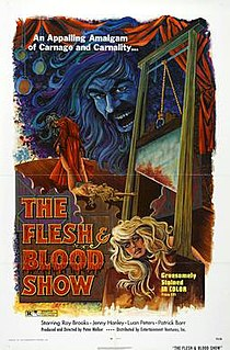 <i>The Flesh and Blood Show</i> 1972 film by Pete Walker