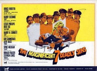 The Magnificent Seven Deadly Sins - Poster