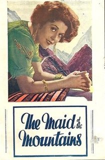<i>The Maid of the Mountains</i> (film) 1932 film by Lupino Lane