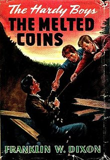 Image result for hardy boys melted coins