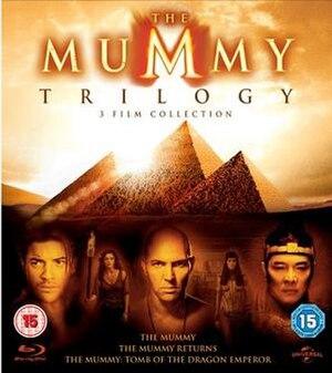The Mummy (franchise) - Image: The Mummy Trilogy Blu ray Boxset