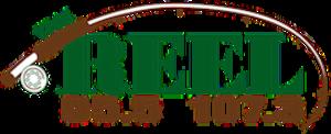 KQZR - Image: The Reel FM Radio Logo