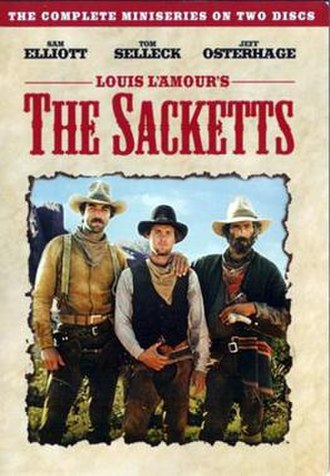 The Sacketts - DVD cover