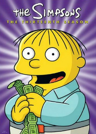 The Simpsons (season 13) - DVD cover
