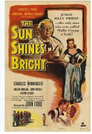 The Sun Shines Bright - Film poster