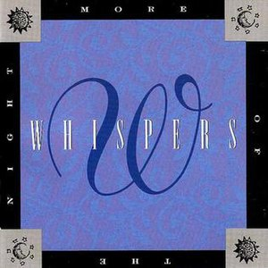 More of the Night - Image: The Whispers More of the Night album