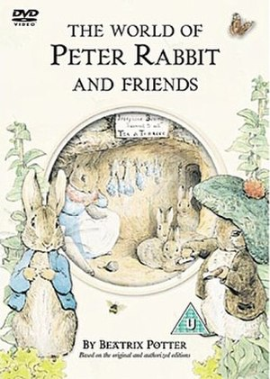 The World of Peter Rabbit and Friends - UK DVD cover