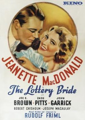 The Lottery Bride - Cover of the Kino DVD edition