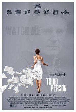 Third Person (film) - Teaser poster