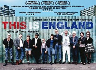 <i>This Is England</i> 2006 British drama film written and directed by Shane Meadows