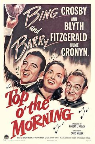 Top o' the Morning (1949 film) - Image: Top o' the Morning Poster