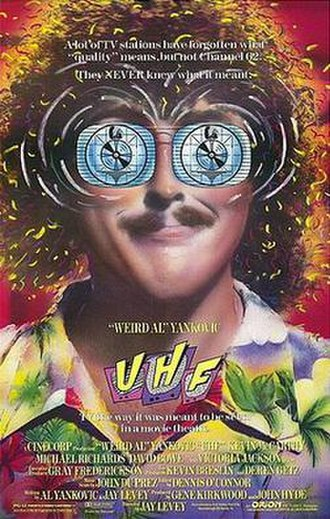UHF (film) - Theatrical release poster
