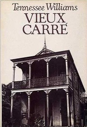 Vieux Carré (play) - First edition cover (New Directions)