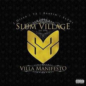 Villa Manifesto - Image: Villa manifesto cover