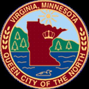Virginia, Minnesota - Image: Virginiamnseal