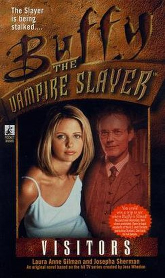 Visitors (Buffy novel) - First edition cover