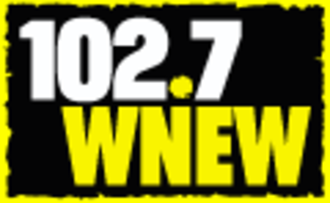 "WNEW-FM - WNEW logo during its ""hot talk"" era"