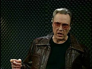 More Cowbell - Image: Walken Cowbell