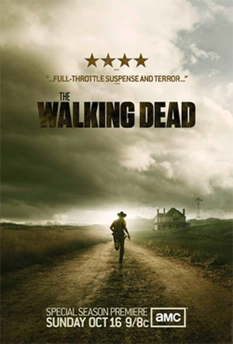 The Walking Dead (season 2) - Promotional poster and home media cover art