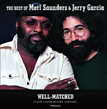 Photo of Merl Saunders and Jerry Garcia, by Annie Liebovitz