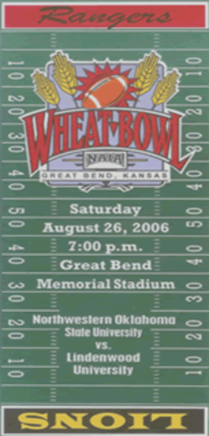 Wheat Bowl - The only sanctioned NAIA pre-season bowl game