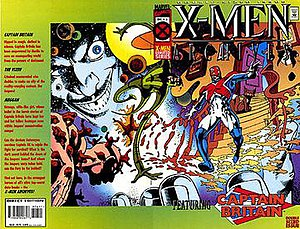 Jaspers' Warp - Cover to X-Men Archives No. 06, illustrating Jaspers reality warp. Cover art by Alan Davis.