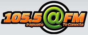 XHBO-FM - Image: XHBO @FM105.5 logo