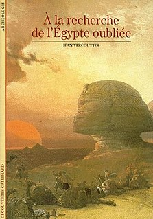 <i>The Search for Ancient Egypt</i> 1986 book by Jean Vercoutter