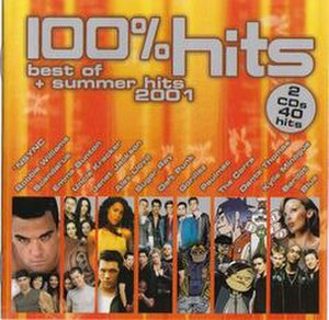 100% Hits: The Best of 2001 + Summer Hits - Image: 100% Hits The Best of 2001 + Summer Hits