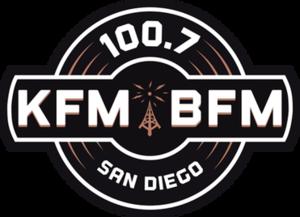 KFMB-FM - Image: 100.7 KFM BFM logo