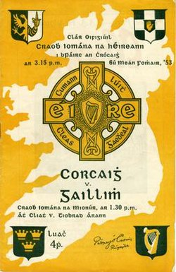 1953 All-Ireland Senior Hurling Championship Final programme.jpg