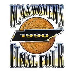 1990 NCAA Division I Women's Basketball Tournament - Image: 1990Womens Final Four Logo
